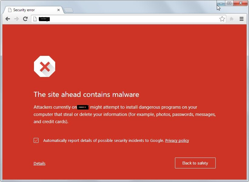 The 10 Signs You Have A Compromised Website - This site may be compromised